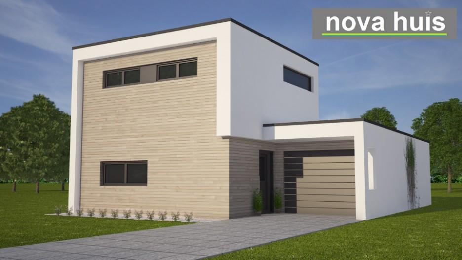 Kleine moderne kubistische woning k87 nova huis - Huis in de moderne ...