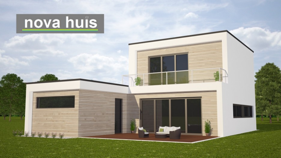 Architect Kleine Woning : Kleine moderne kubistische woning k87 nova huis