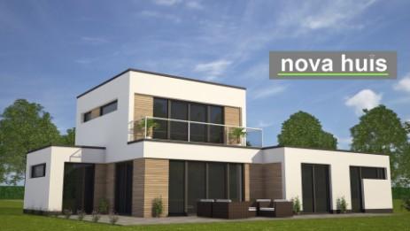 Modern kubistisch woning huis of villa nova huis