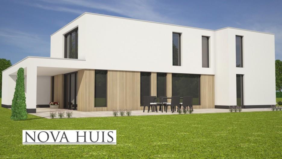 Moderne kubistische villa k170 nova huis for Huis ontwerpen