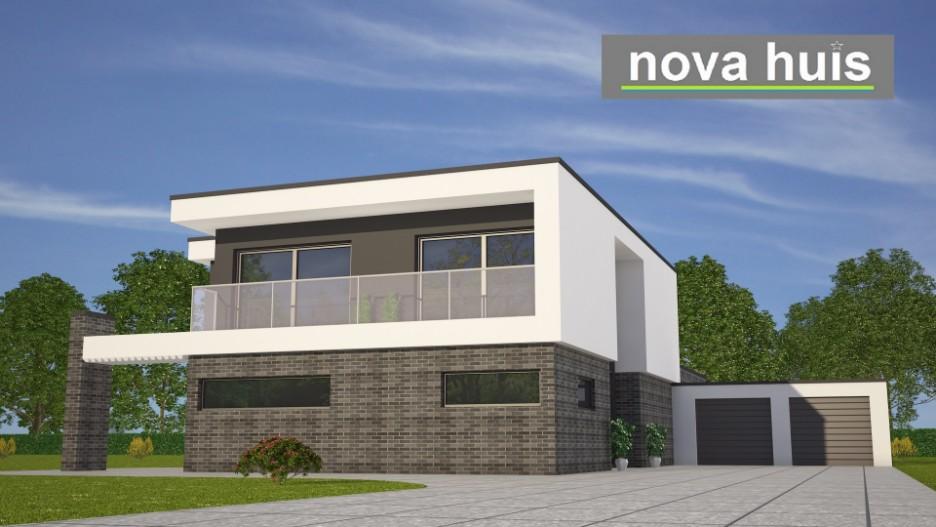 Modern kubistisch huis eigentijdse bouwstijl k96 nova huis - Fotos eigentijdse huizen ...