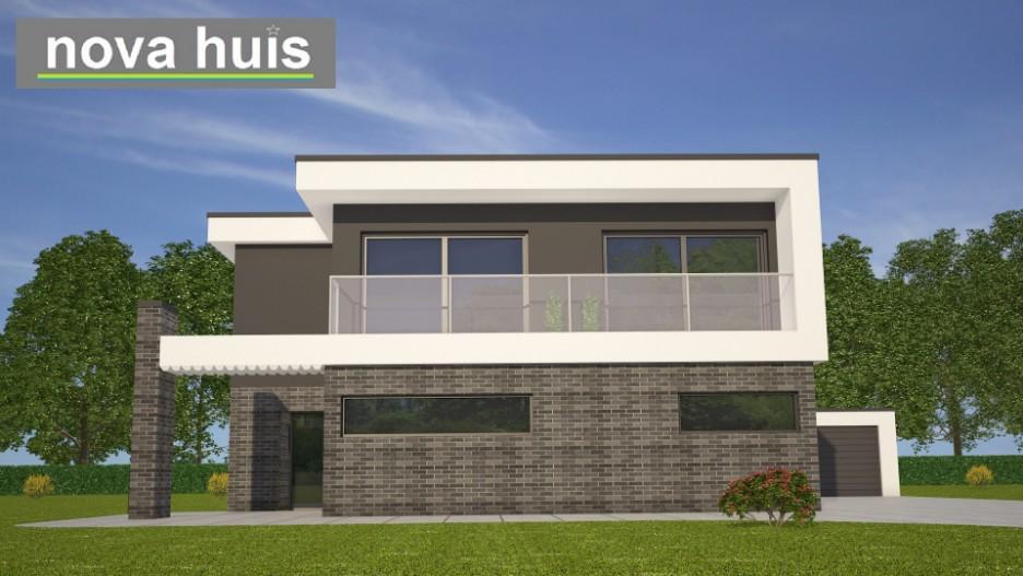 Modern kubistisch huis eigentijdse bouwstijl k nova huis