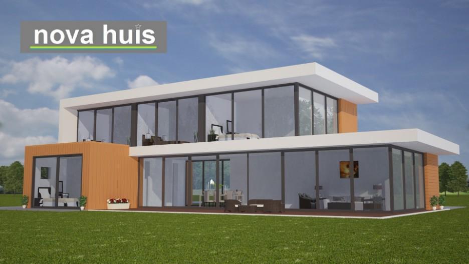 Modern kubistisch woning huis of villa nova huis for Woning indeling