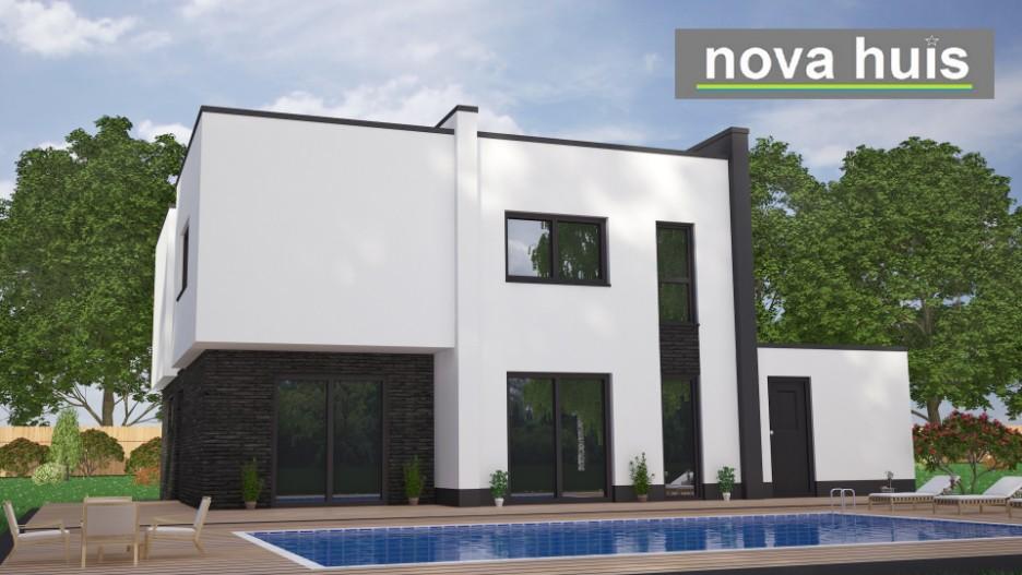 Moderne kubistische bouwstijl k17 nova huis for Nieuwe woning wensen