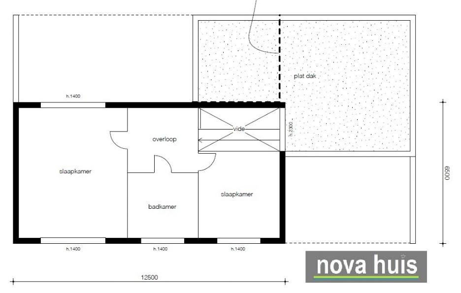 moderne kubistische woning k122 nova huis