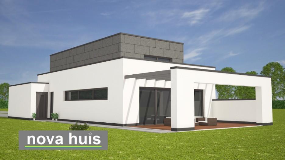 Modern kubistisch woning huis of villa nova huis for Huis ontwerpen