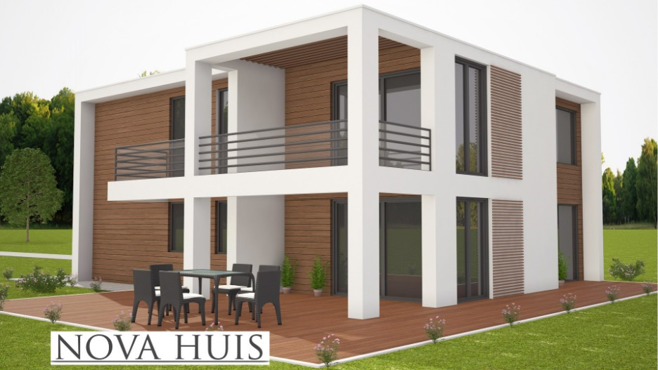 Goedkoop huis bouwen prefab beautiful houten huis for Huis bouwen prefab