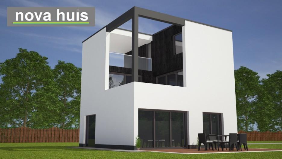 Modern kubistisch woning huis of villa nova huis - Huis modern kubus ...