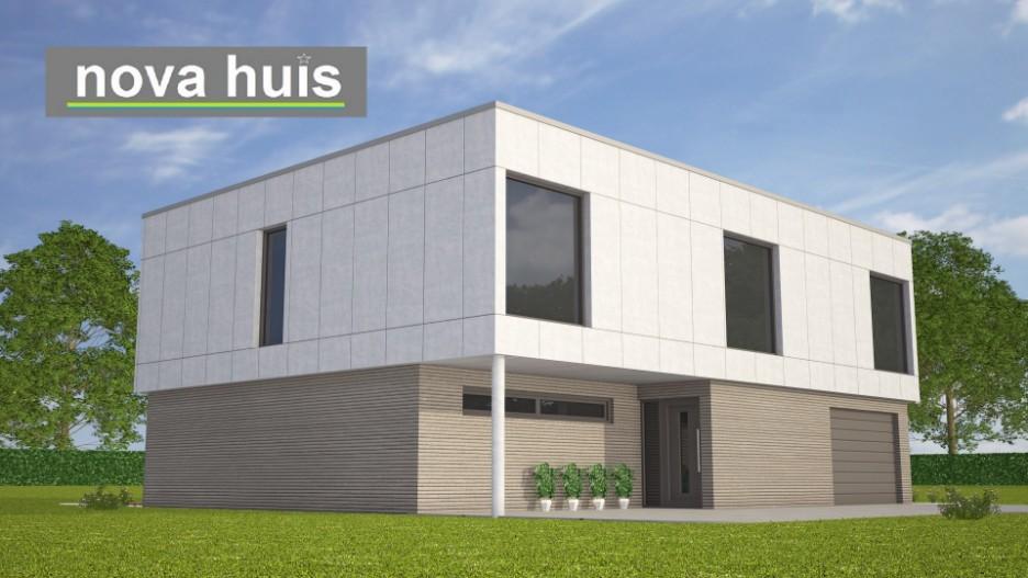 Moderne kubistische woning k106 nova huis for Woning indeling