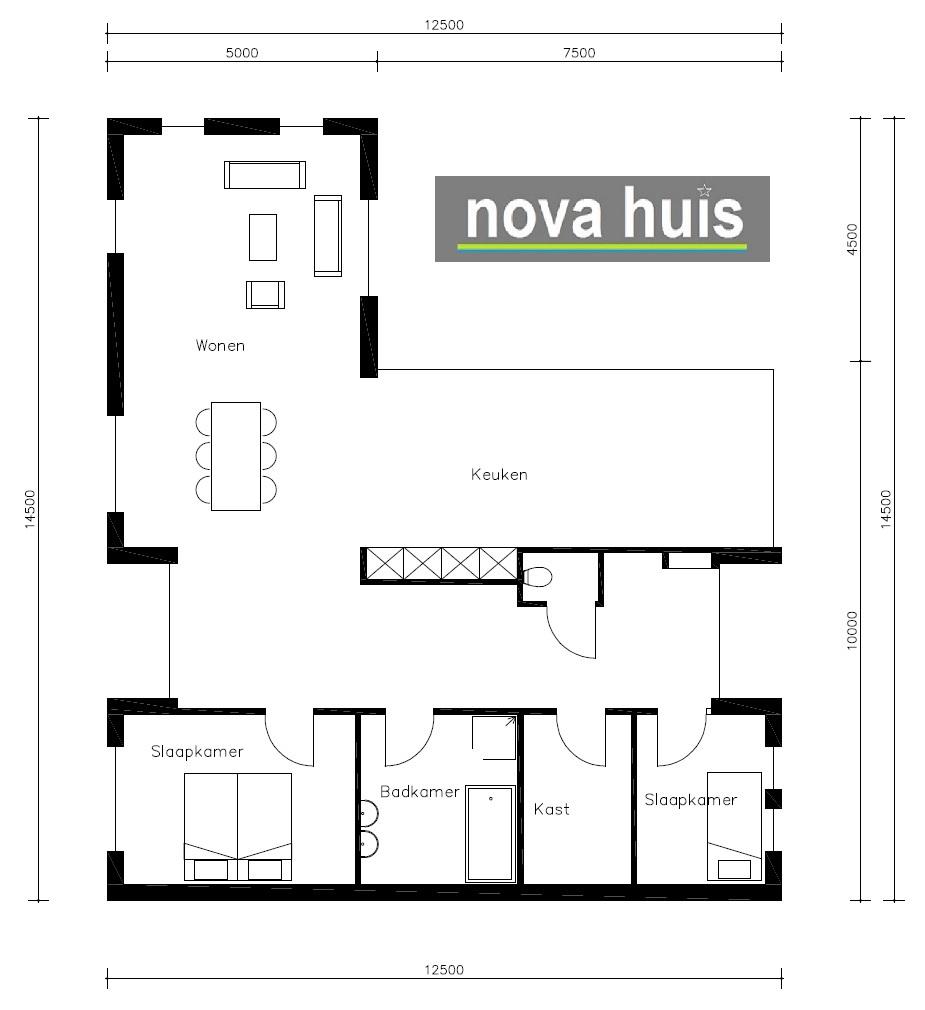Interieur I Binnenkijken I Moderne Bungalow In Ermelo: Moderne Bungalow Met Plat Dak Bouwen A29