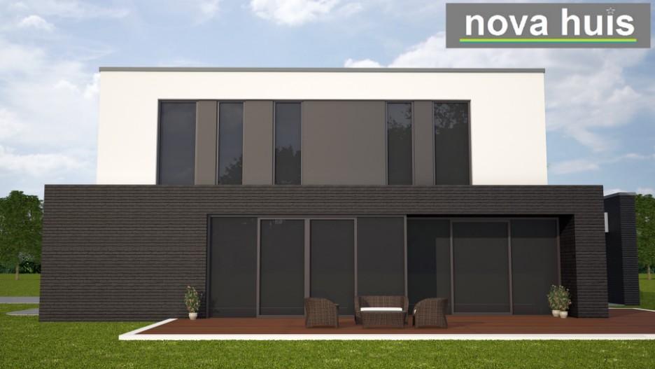 Moderne kubistische woning k84 nova huis