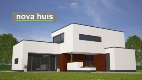 Modern kubistisch woning huis of villa nova huis for Woningen moderne villa