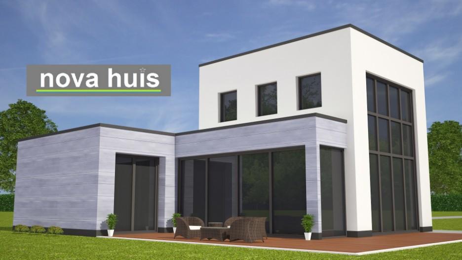 Klein Huis Bouwen : Modern kubistisch woning huis of villa nova huis