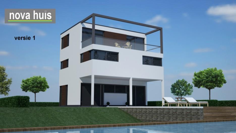 Kubistische ontwerpen nova huis - Huis modern kubus ...