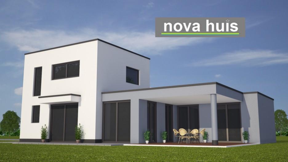 Modern kubistisch woning huis of villa nova huis - Zie in het moderne huis ...