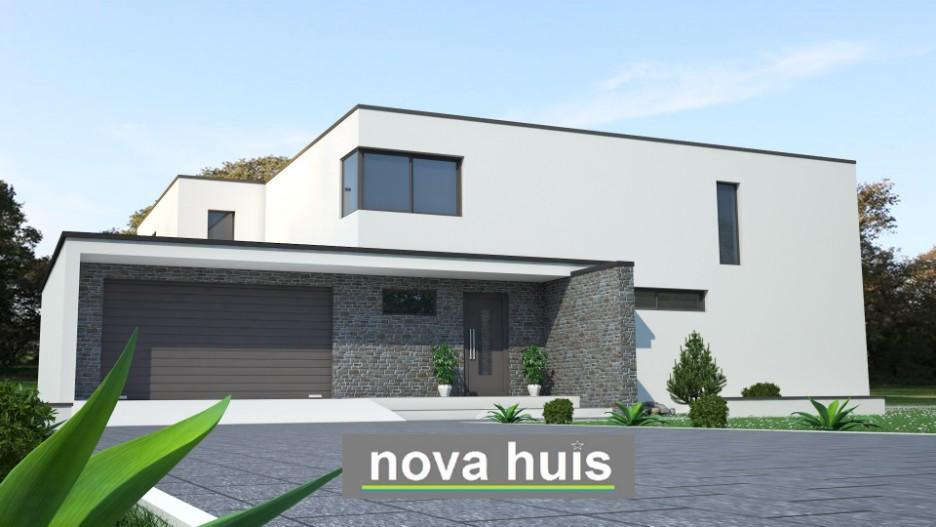 Moderne kubistische bouwstijl k18 nova huis