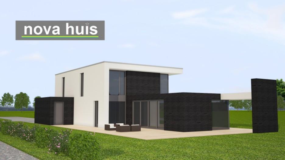 Moderne kubistische woning k142 nova huis for Huis ontwerpen