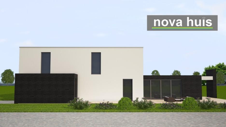 Moderne kubistische woning k142 nova huis - Huis in de moderne ...