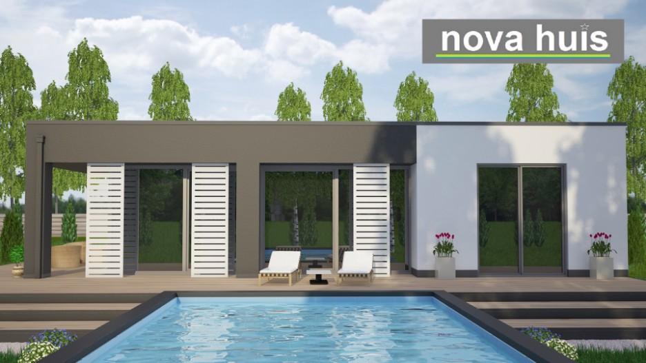 Moderne Bungalows moderne kubistisch bungalows huis