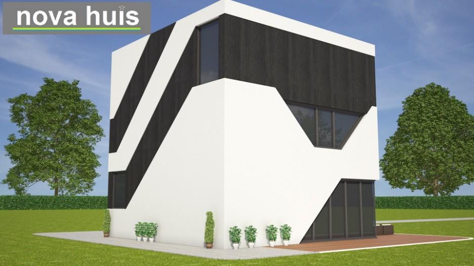 Moderne kubistische kubus woning k138 nova huis for Moderne huis foto