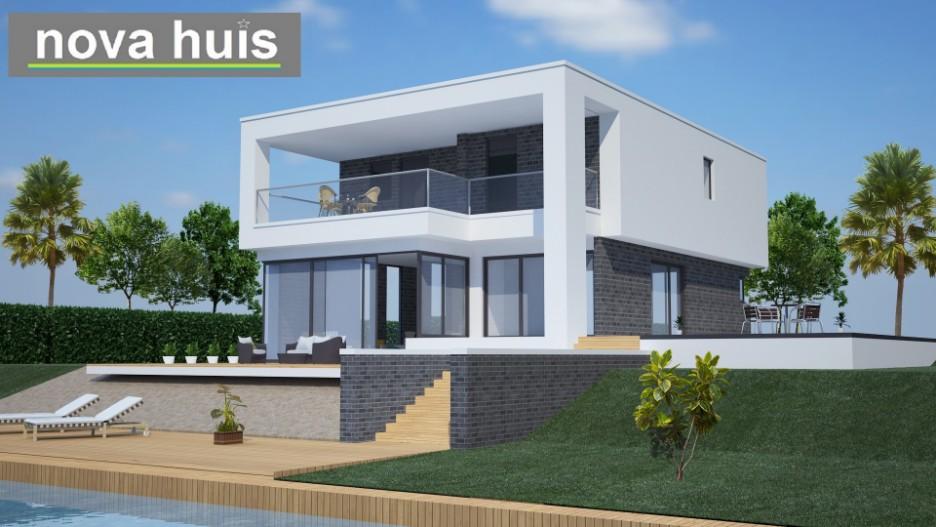 Moderne kubistische woning k66 nova huis for Huis ontwerpen