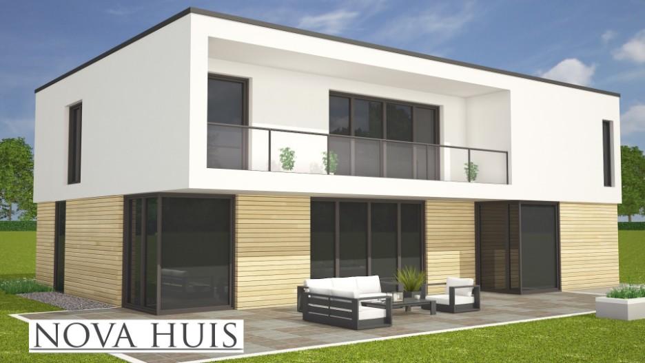 Moderne laagbouw woningen for Woningen moderne villa