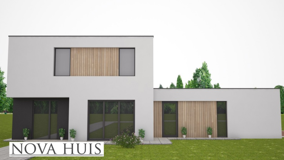 Zelf uw nieuwe moderne bb woning ontwerpen en bouwen samen for Zelf een huis bouwen prijzen