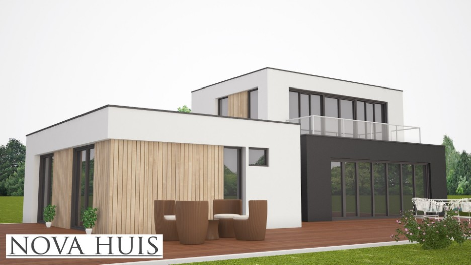 Moderne kubistische woning benb k204 nova huis for Nieuwe woning wensen