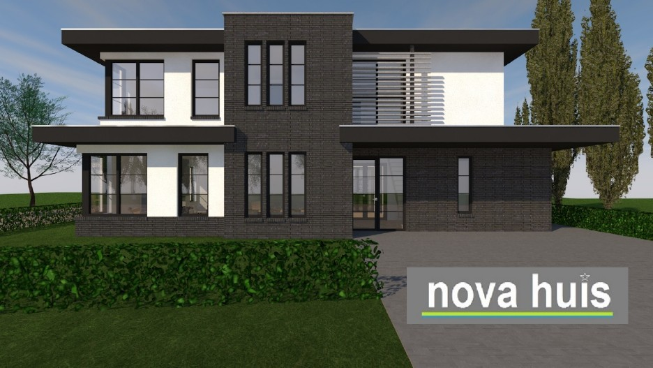 Modern huis bouwen bouwen moderne stijl motorcycle review and galleries - Modern stijl huis ...