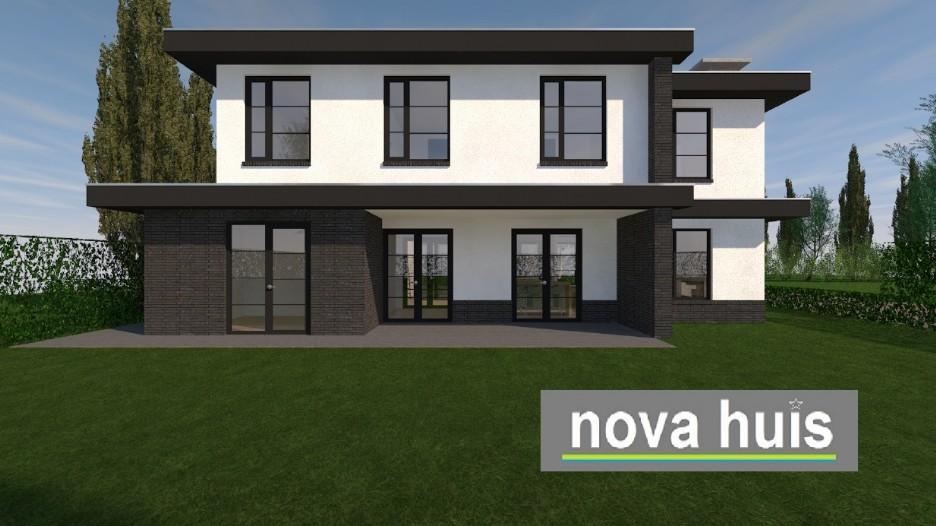 Frank lloyd wright moderne kubistische woning k164 nova huis