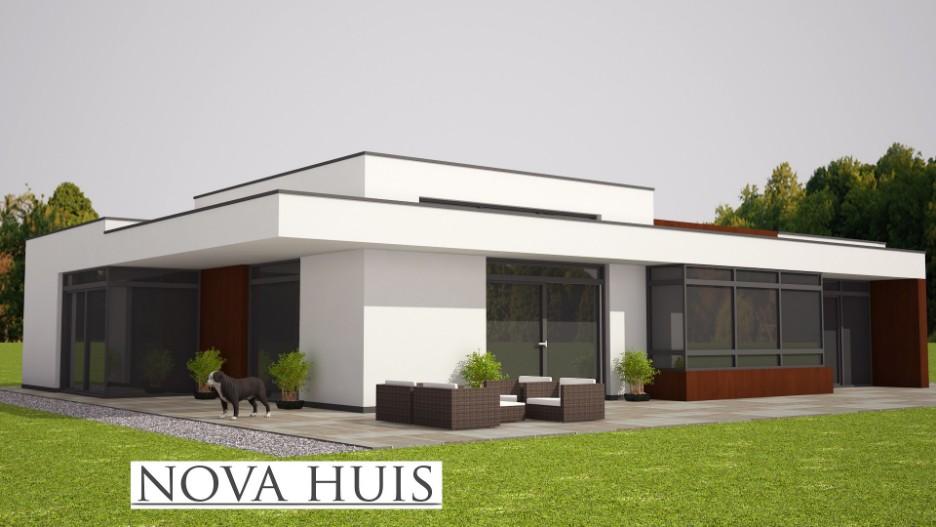 Vierkante meterseps van het het huis moderne huis van het